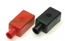 BATTERY TERMINAL COVERS STRAIGHT CABLE EXIT  Pos/Neg  <br>  ALT/BTC10B/R-01